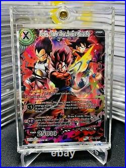 12ct DRAGON BALL SUPER Son GOKU & VEGETA APEX OF POWER SCR BROLY GOGETA SAIYAN