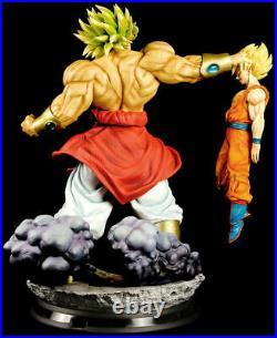 1/4 Dragon Ball Super Saiyan Broly VS Son Goku High Version Resin Statue 76 CM H