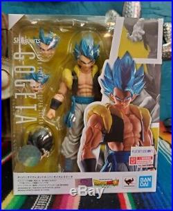 2-SET S. H. Figuarts Dragon Ball Movie Super Saiyan Blue Gogeta & Broly