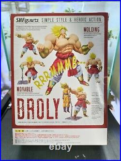 Authentic SH Figuarts Dragon Ball Z SUPER SAIYAN BROLY Bandai 1st Edition