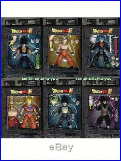 BANDAI DragonBall SUPER Stars BAF Saiyan S. S. /SS BROLY 6-Figure Lot Set Z KAI GT