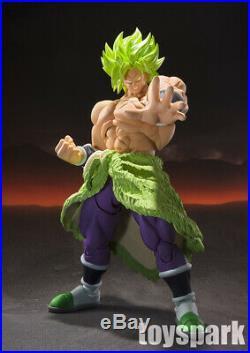 BANDAI S. H. Figuarts Dragonball Z Movie SS SUPER SAIYAN BROLY FULL POWER figure