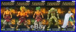 BANPRESTO DRAGONBALL Z Kai Legend Of Saiyan Collectible 5 Figure Paragas Broly