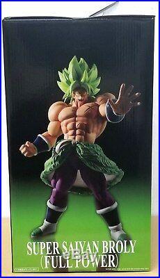 Bandai Dragon Ball Super King Clustar Super Saiyan Broly Full Power 13 Figure