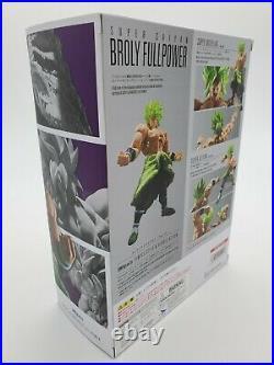 Bandai S. H. Figuarts Broly Super Saiyan FULL POWER Dragon Ball Movie (US SELLER)