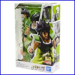 Bandai S. H. Figuarts Dragon Ball Super Saiyan Broly + Full Power Set Figure SHF