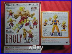 Bandai Tamashii Nations S. H. Figuarts Dragon ball Z Combo BROLY+SUPER SAIYAN SON