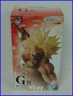 Banpresto Dragonball Ichiban kuji G Prize Super Saiyan Broly'94 Figure Japan