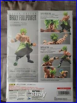 Broly Full Power Super Saiyan SH Figurarts New