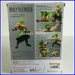 Broly S. H. Figuarts Action Figure Dragon ball Super Full power saiyan Unopened
