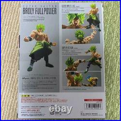 Broly S. H. Figuarts Action Figure Dragon ball Super Full power saiyan withBox