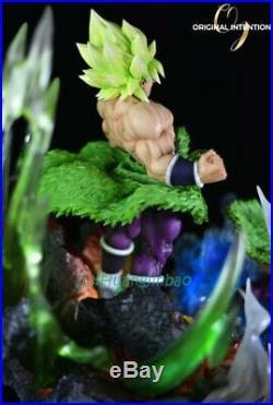 DBZ Dragon Ball Z Super Saiyan Broli Statue Painted Pre-sale Figure Led Light GK