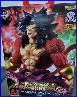 DragonBall SUPER DRAGONBALL HEROES SAGA Broly Super Saiyan4 A Prize Ichiban Kuji