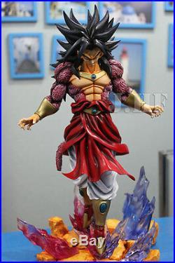 Dragon Ball AF Dragonball Z Goku Super Saiyan 4 Broly Deluxe Figure Resin Stock