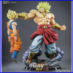 Dragon Ball Broly Legendary Super Saiyan King Destruction Hqs + 1/4 Statue Tsume