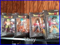 Dragon Ball Dragon Stars Lot (4 Figures) Goku Broly Super Saiyan