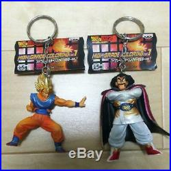 Dragon Ball High Grade Coloring Vol. 1 keychain 5 set Super saiyan Goku Broly