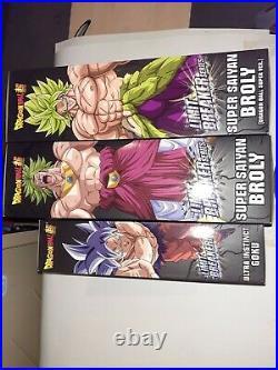 Dragon Ball Super Limit Breaker 12 inch Super Saiyan Broly Ultra Instinct Goku