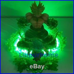 Dragon Ball Z Broli Saiyan Evolution Lamp Led Night Light Figures Anime Dbz Toy