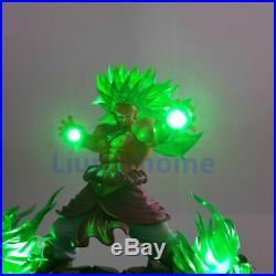 Dragon Ball Z Broly led light Super Saiyan Action Figures Led Head Lighting PVC