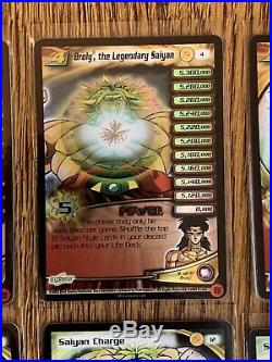 Dragon Ball Z CCG COMPLETE Broly The Legendary Super Saiyan Subset Limited