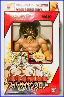 Dragon Ball Z DBZ Super Battle Collection (Gold Hair) SUPER SAIYAN BROLY VOL 10