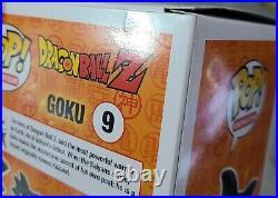 Dragon Ball Z DBZ Super Saiyan Vegeta Goku Broly Exclusive Funko Pop Lot