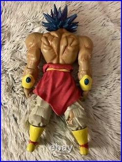 Dragon Ball Z Legendary Super Saiyan Broly (Blue Hair)- 11 2003 Action Figure