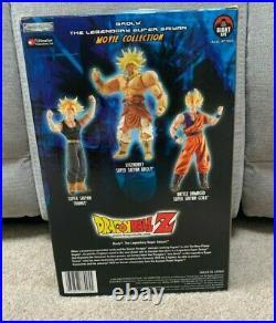 Dragon Ball Z Movie Collection Legendary Super Saiyan SS BROLY NIB