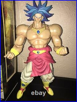 Dragon Ball Z Movie Collection Super Saiyan Broly RARE Jakks Pacific Figure