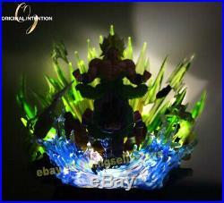 Dragon Ball Z Super Saiyan Broli Statue Full Painted Figure Led Light Pre Order