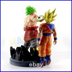 Dragon Ball Z Super Saiyan Broli VS Goku Painted Figure Statue Toy 15 No Box