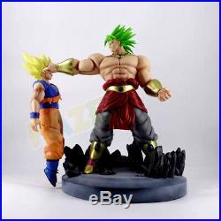 Dragon Ball Z Super Saiyan Broli VS Goku Peinture Action Figure Statue Jouet