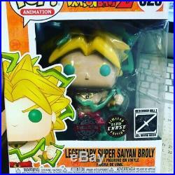 Dragon ball z legendary super saiyan broly funko pop limited chase glow 30th ann