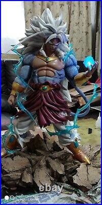 Dragonball AF THE NIGHTMARE SSJ5 Broly Saiyan Broli GK Resin Statue Figure DBZ