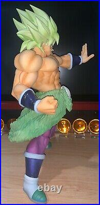 Figura original de dragon ball super Broly Super Saiyan Legendary 34cm