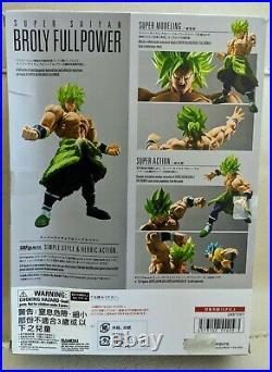 Free shipping flash sales! S. H. Figuarts Super Saiyan Broly Full Power Dragonball