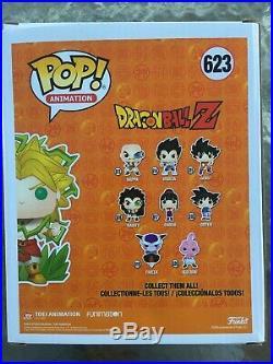 Funko POP Animation DBZ SUPER SAIYAN BROLY #623 And SSG Goku #827