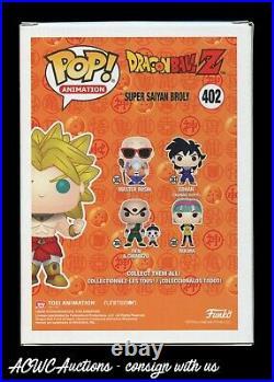 Funko POP! -Dragon Ball Z Super Saiyan Broly- Signed by Vic Mignogna JSA
