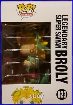 Funko POP! LEGENDARY SUPER SAIYAN BROLY #623 (GALACTIC TOYS) CHASE WithPROTECTOR