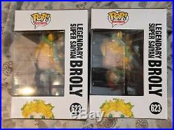 Funko Pop Dragon Ball Z Chase Legendary Super Saiyan Broly 623 Glow Galactic