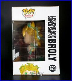Funko Pop! Dragon Ball Z Super Saiyan Broly 2018 SDCC + 6 Broly Galactic Toys