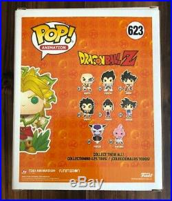Funko Pop Dragonball Z 6 Legendary Super Saiyan Broly Galactic Toys Exc Chase