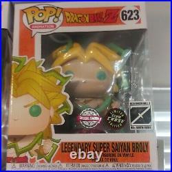 Funko Pop! Super Saiyan Broly 6 Chase Galactic Toys Exclusive