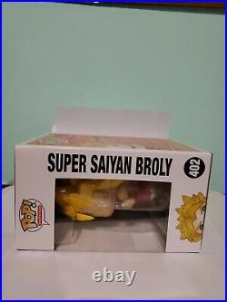 Funko Sdcc 2018 Excl. Dragon ball Z Super Saiyan Broly Pop #402 Official Sticker