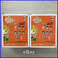 GLOW CHASE Funko POP! Anime Dragonball Z Legendary Super Saiyan Broly #623 Set