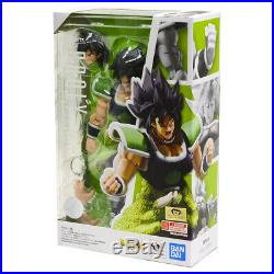 INSTOCK- Bandai S. H. Figuarts Dragon Ball Super Saiyan Broly Super Figure SHF