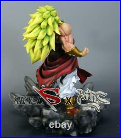 IN STOCK DBZ-JHF-DragonBall-Z-Super-Saiyan-3-BROLY-BROLI-Resin-Statue-figure