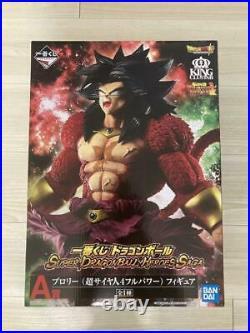 Ichiban Kuji DragonBall SUPER DRAGONBALL HEROES SAGA Broly Super Saiyan4 A Japan