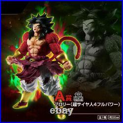 Ichiban Kuji DragonBall SUPER DRAGONBALL HEROES SAGA Broly Super Saiyan4 A Prize